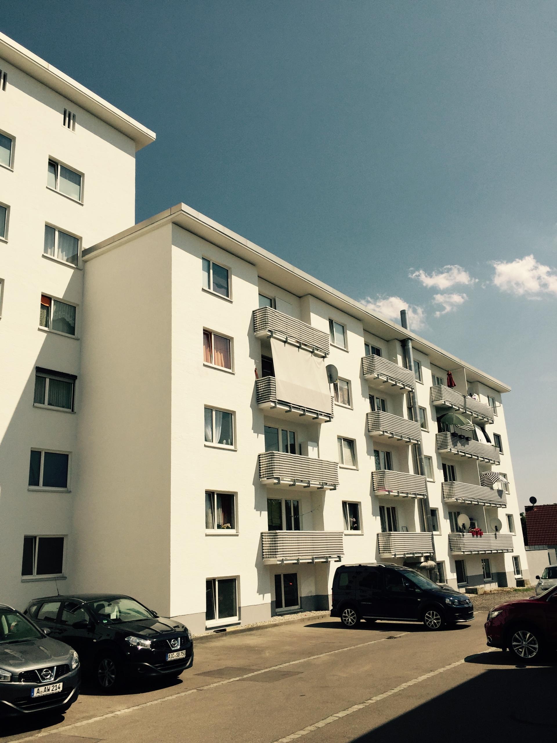 Ulmer Landstraße in Augsburg/Stadtbergen
